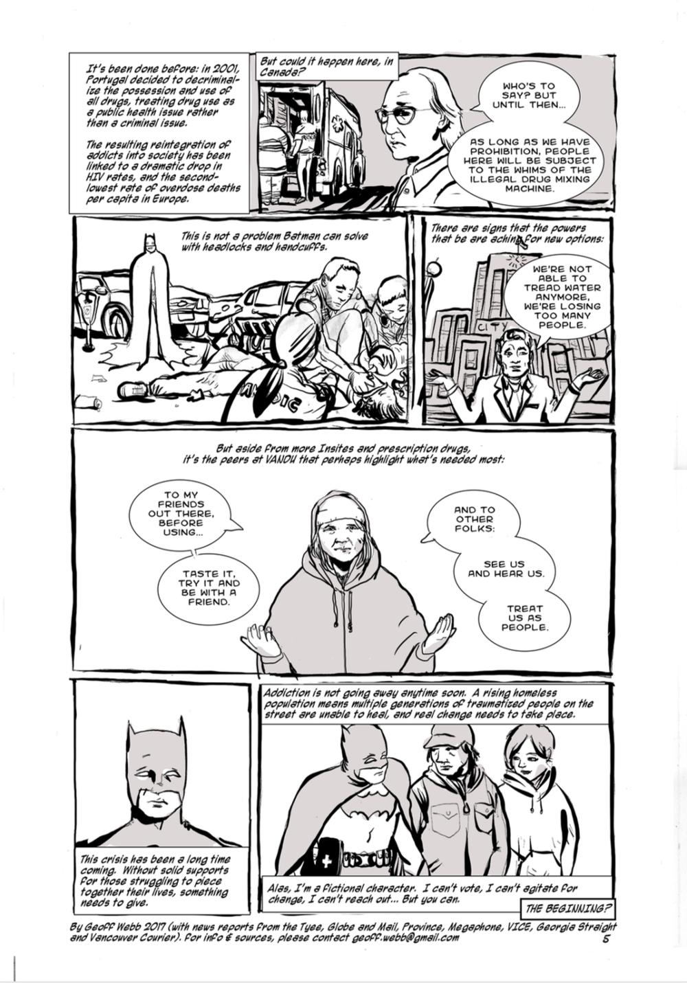 batman solves vancouver's endemic problems pt 1 - Geoff Webb - Video
