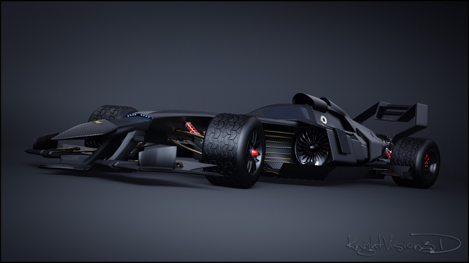 Batman F1 Concept Knightvision3d Personal Network