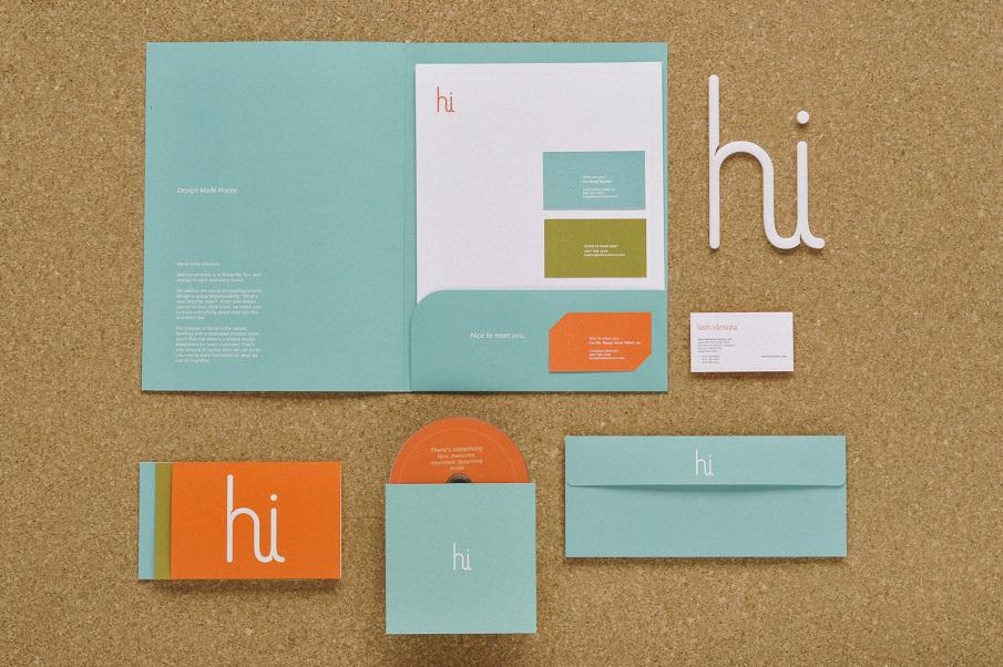 We Designed The Folders Letterhead CD Case Callcards Letter Envelope Etc