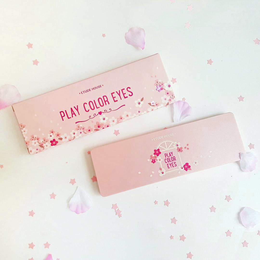 Etude House Play Color Eyes Cherry Blossom 1