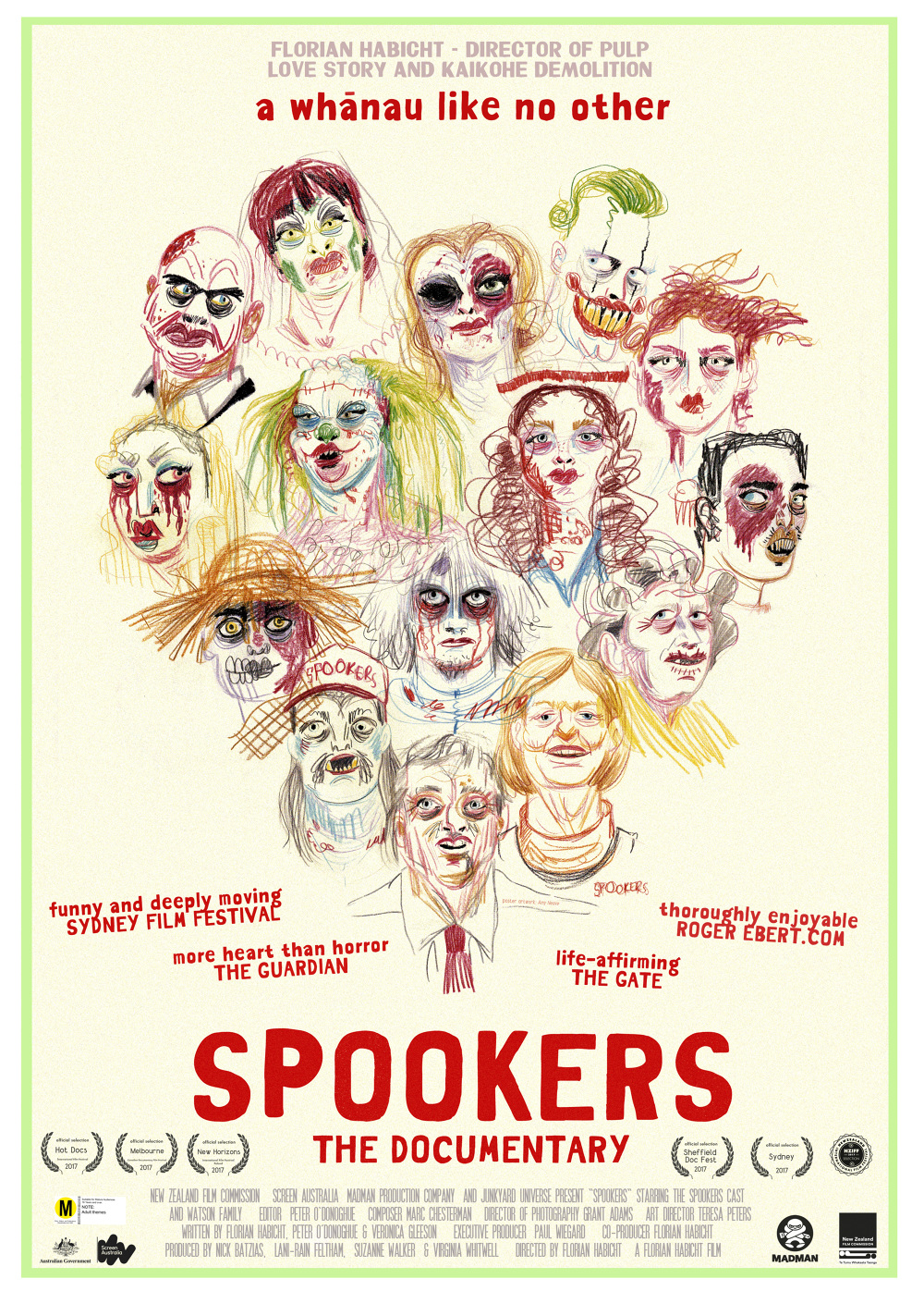 Spookers (2017) - The films of Florian Habicht