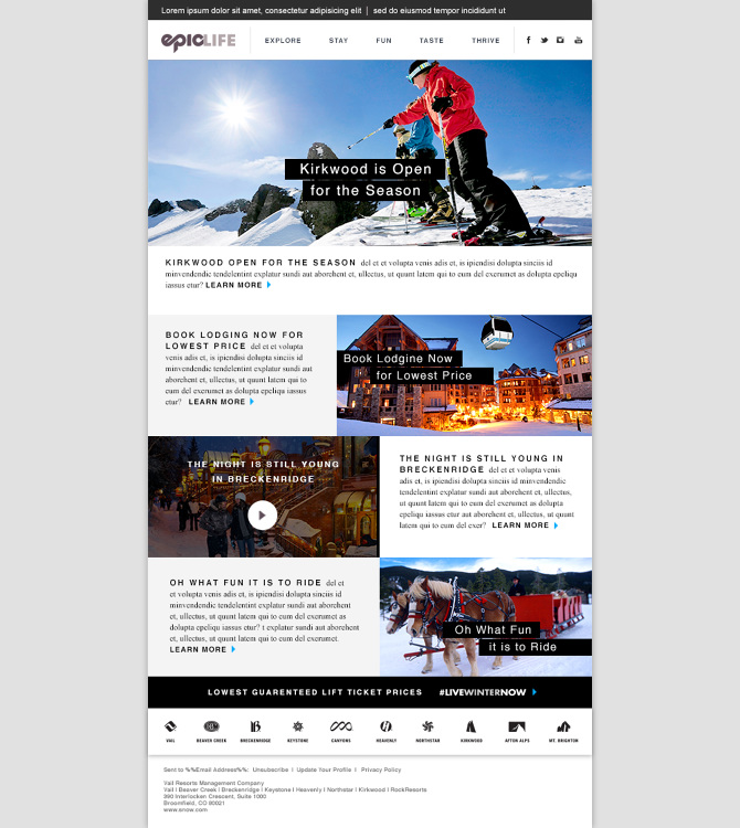 EpicLife Email Templates - Brenda Geary
