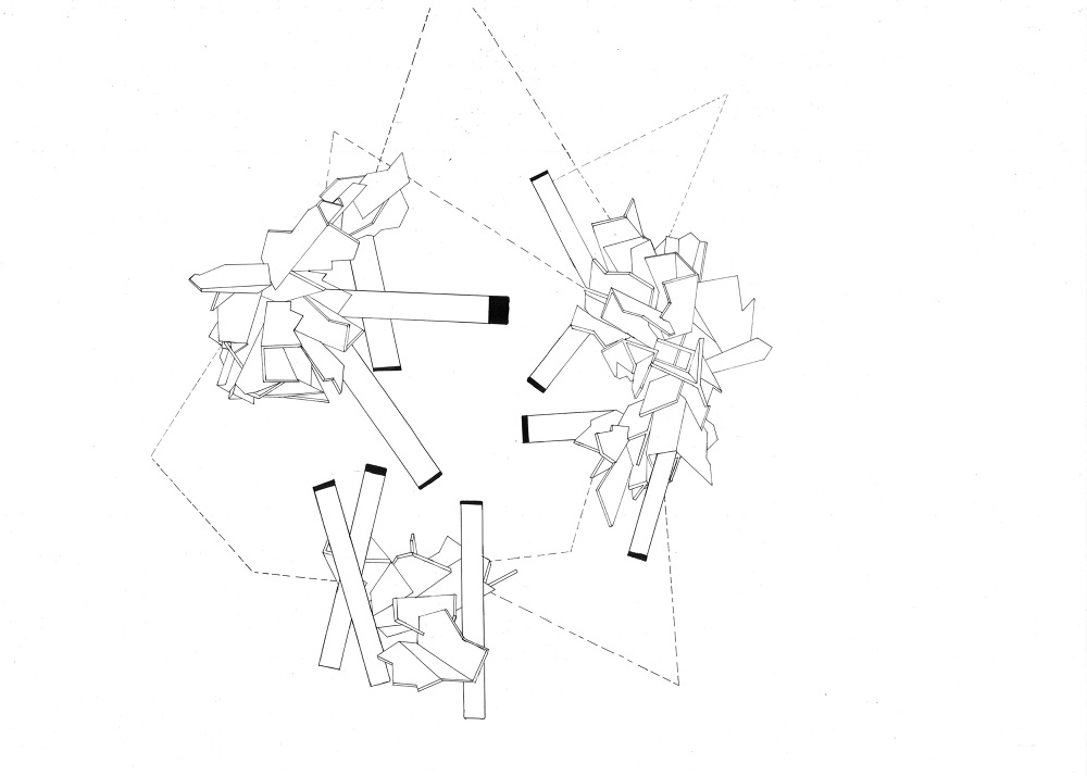 The Movement Architecture Drawing