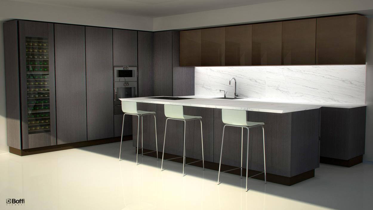Beau Boffi Kitchen