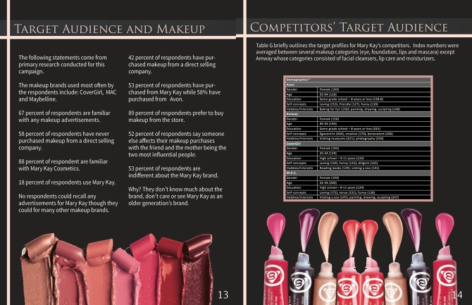 mary kay target market