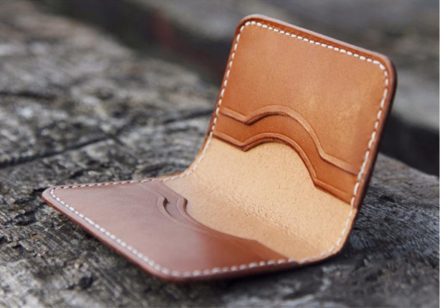 watch b144f 330d1 Four Slot folding card holder - Hook by Crook