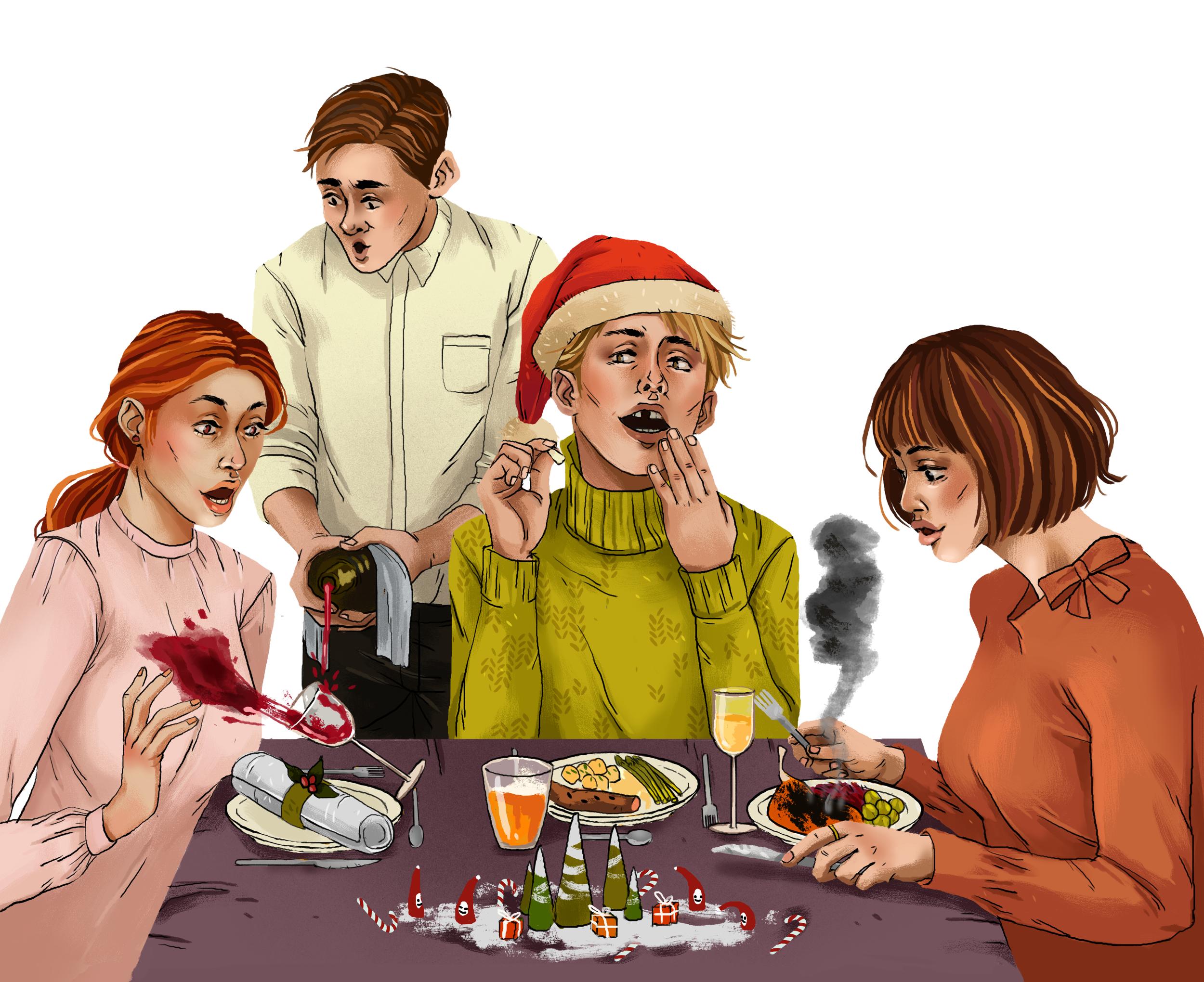 Weihnachtsessen Für 2.Weihnachtsessen Was Kann Da Schon Schief Gehen Karinarehrbehn