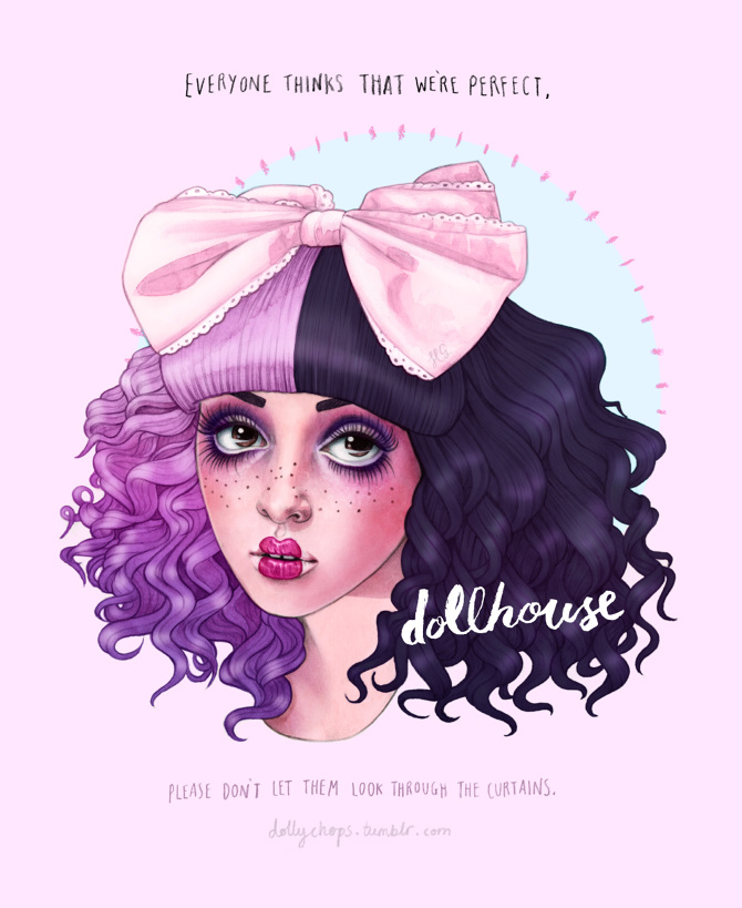 Dollhouse Helen Green Illustration