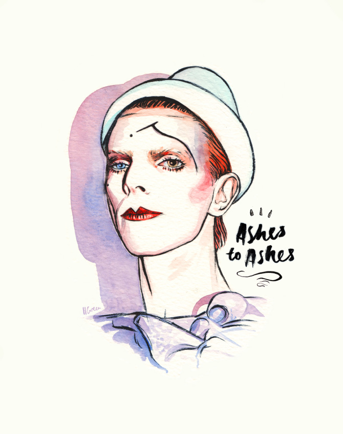 Ashes to Ashes - Helen Green Illustration