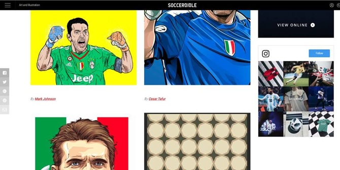 09d169ff19b 14.10.17 My Gianluigi Buffon illustration featured on SoccerBible # soccerbible #buffon