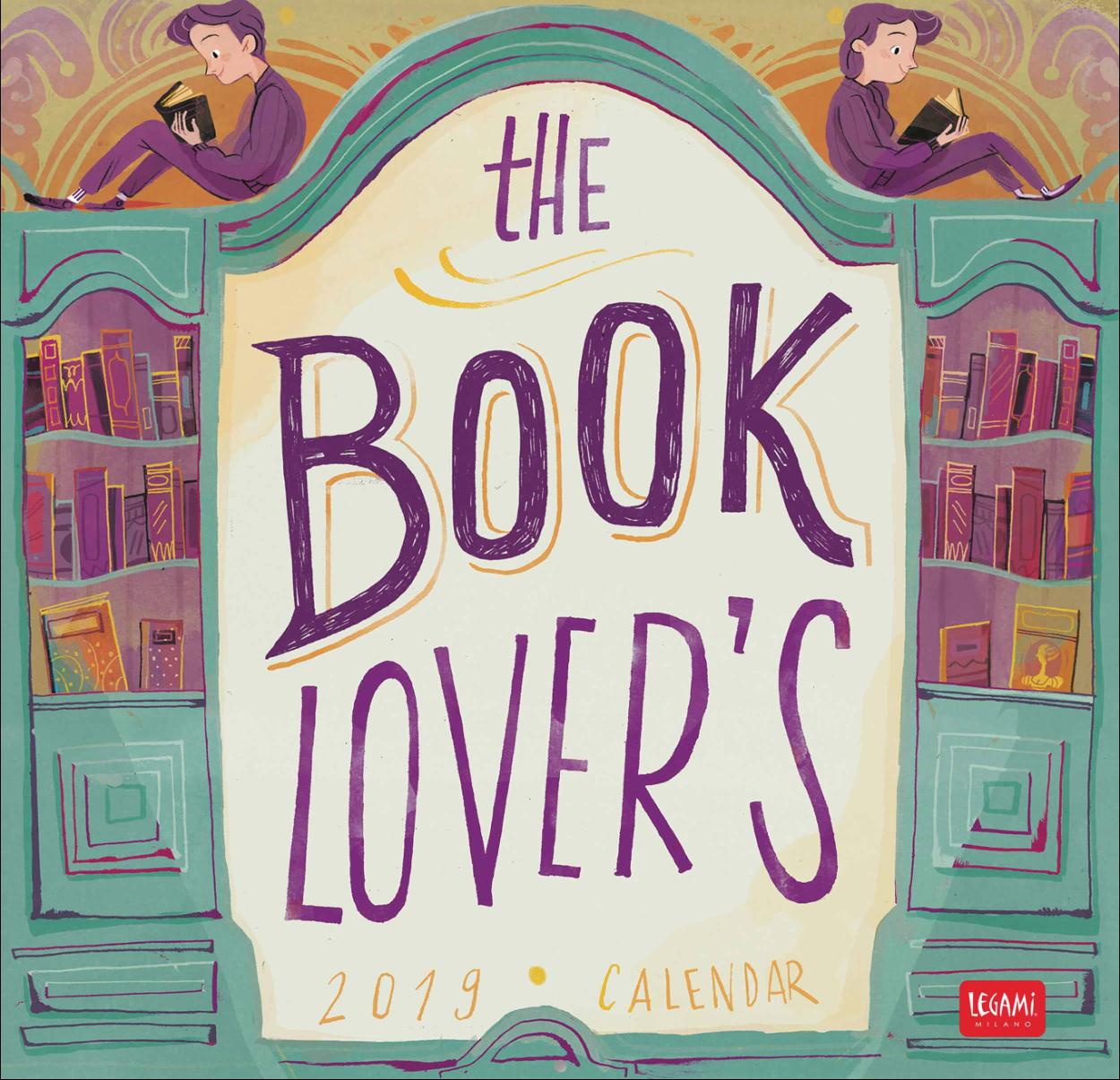 Html Calendario.The Book Lover S Calendar 2019 Flavia Sorrentino