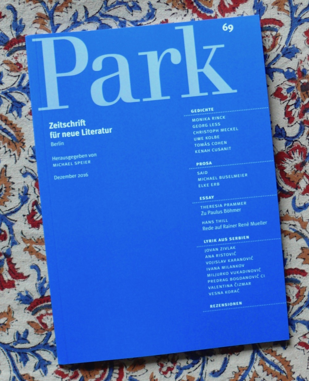 Published In Park Berlin Tomás Cohen