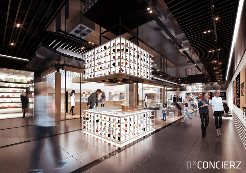 Food Exhibition Booth Design : Agricultural history and culture exhibition hall proposal