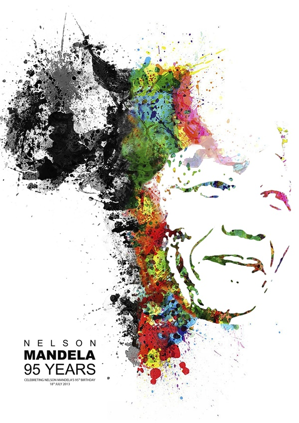 awarded nelson mandela 95th birthday poster project competition