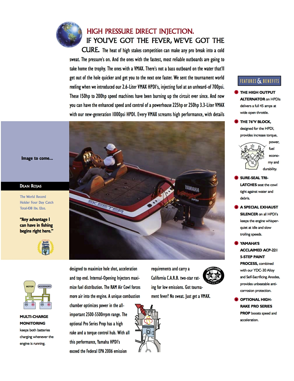 YAMAHA OUTBOARDS Brochure - pattersoncreative
