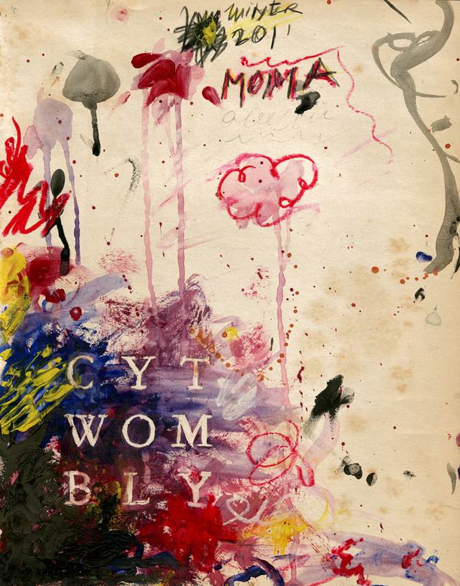 cy twombly moma posters - ryan howard