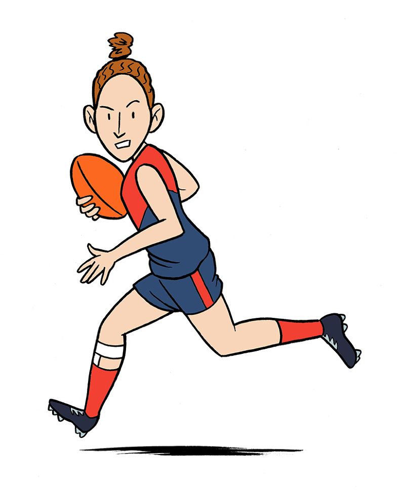 'A Footy Girl's Guide'