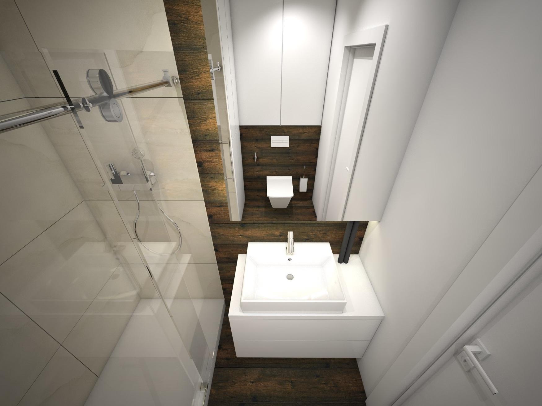 Projekty łazienek Zbigniew Czyż Projektowanie Wnętrz Rzeszów