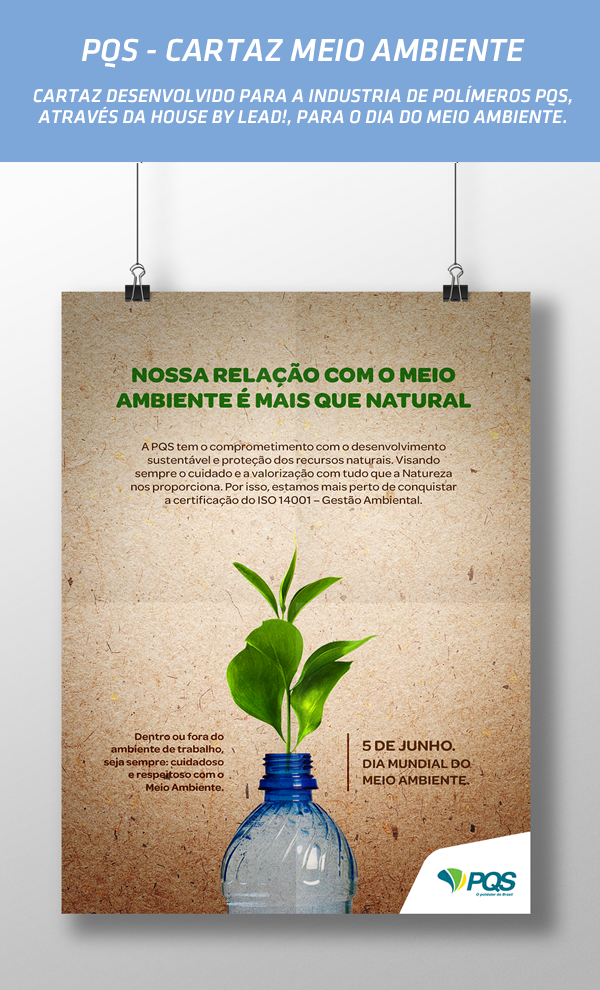 Cartaz Meio Ambiente Pqs Gabriel Nogueira