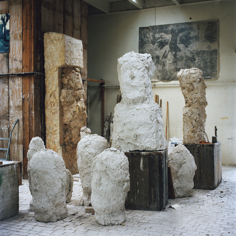 Documentation of the studio Josephsohn in Zürich, 2014 - jirimakovec