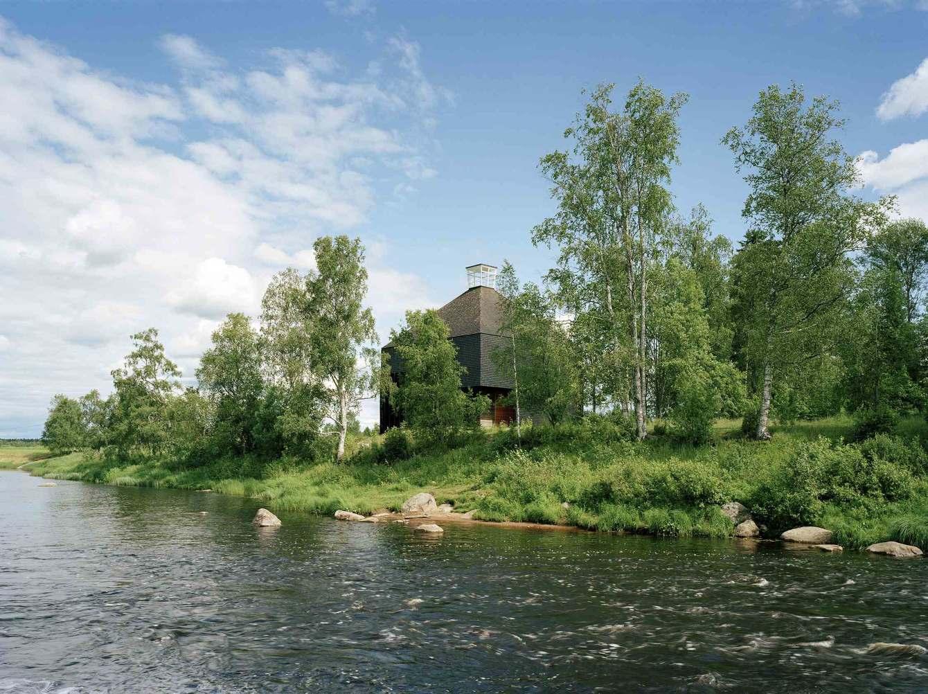 Kärsämäki shingle Church // OOPEAA - from one backyard to another