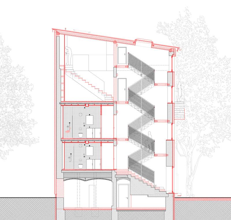 Umbau wohnhaus k rnerstra e mars architekten - Mars architekten ...