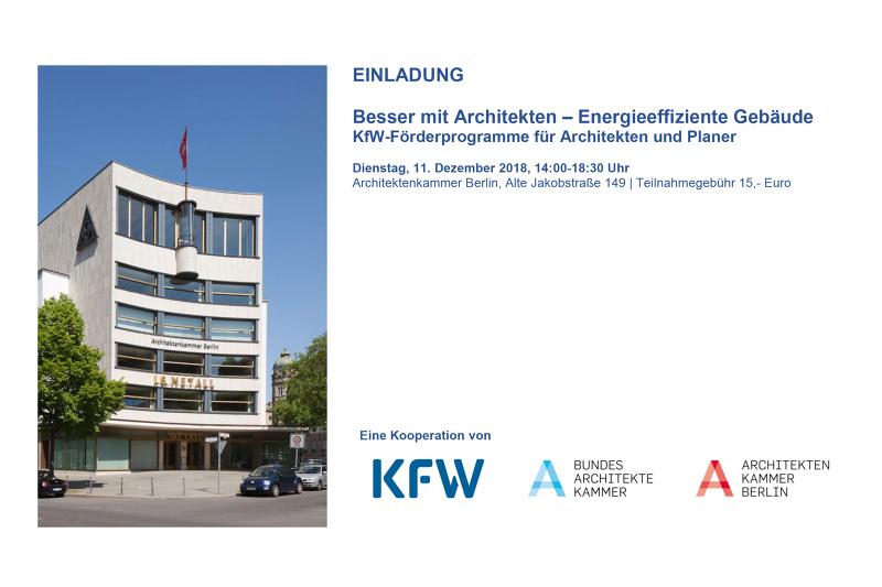 Besser Mit Architekten Energieeffiziente Gebäude Vortrag Mars