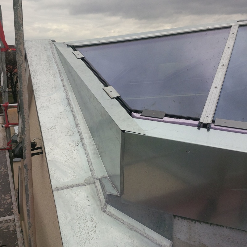 Baufortschritt lichtkuppel 1 mars architekten - Mars architekten ...