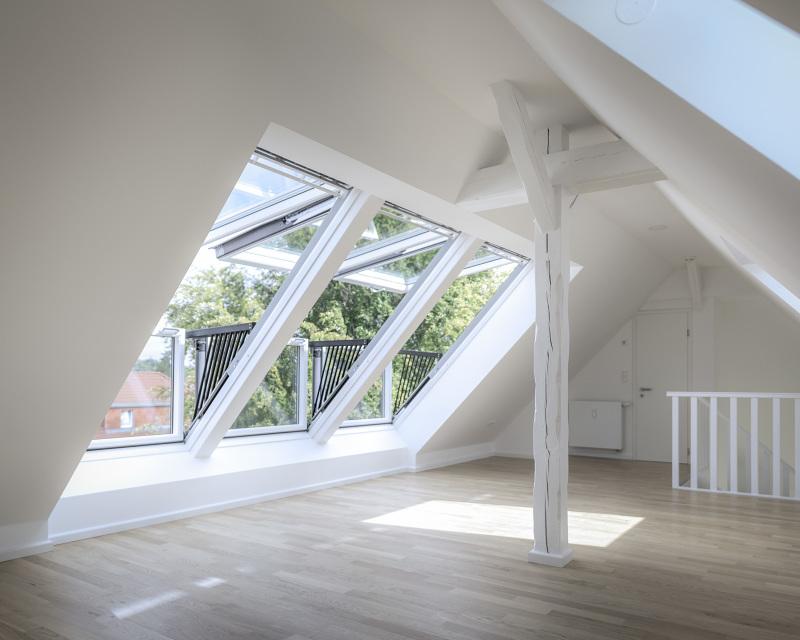 3 dachgeschosswohnungen mars architekten - Mars architekten ...