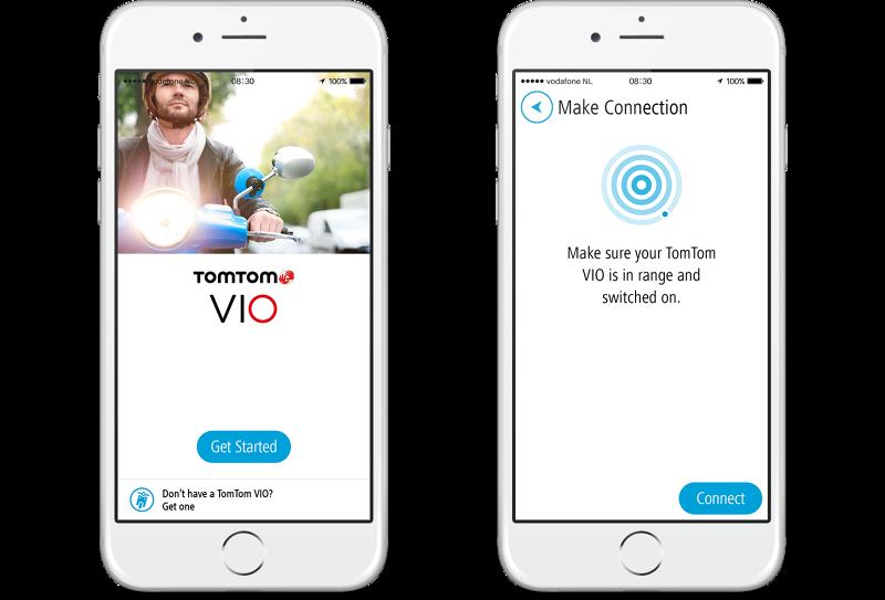 TomTom VIO device and app - Michel van der Hoek - User experience