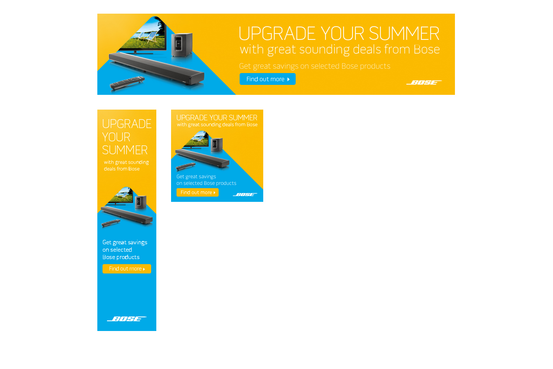 Bose Upgrade your summer - Flowmedia