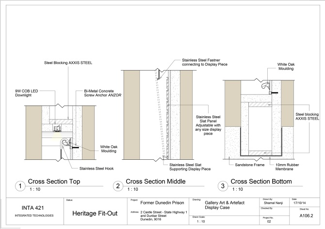 Construction Drawings - Dunedin Prison Re-design - Shamal