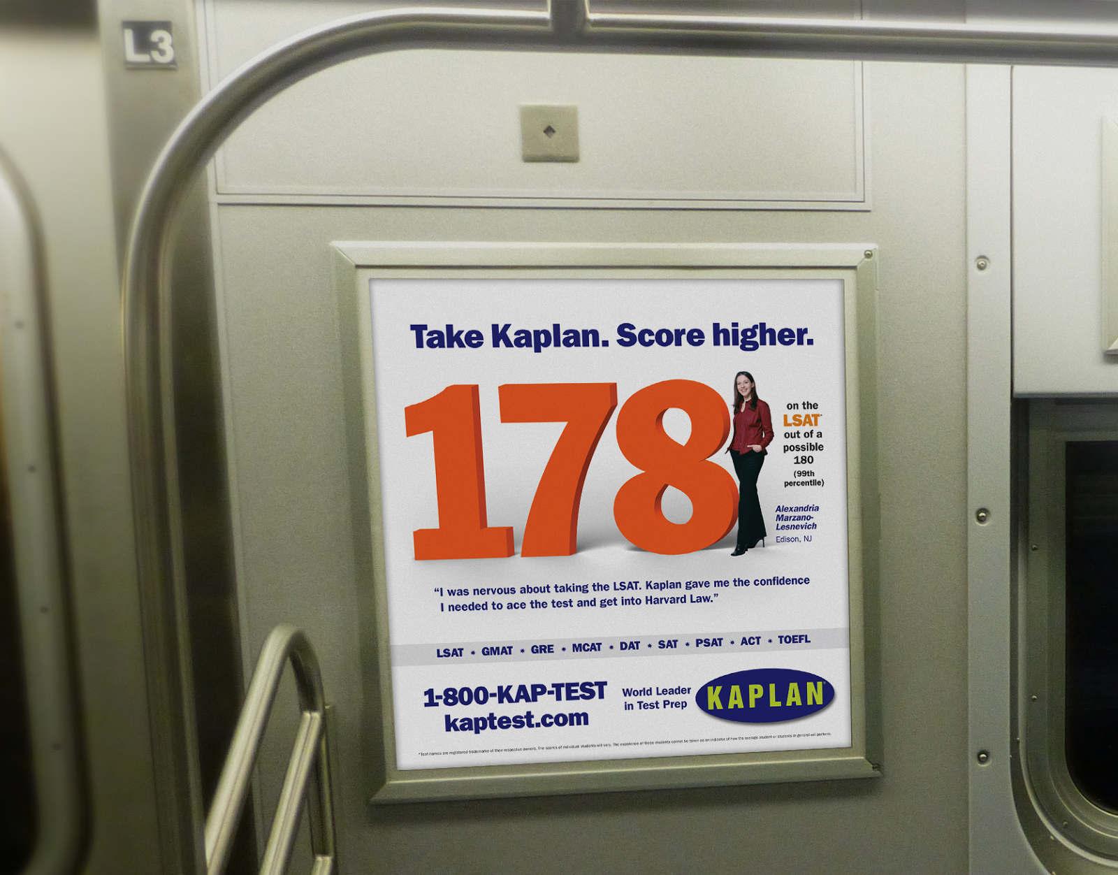 Take Kaplan  Score higher  - Maria Nicholas