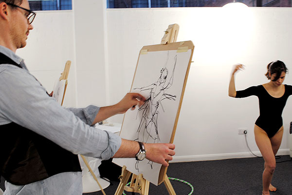 Life Drawing - Art Now