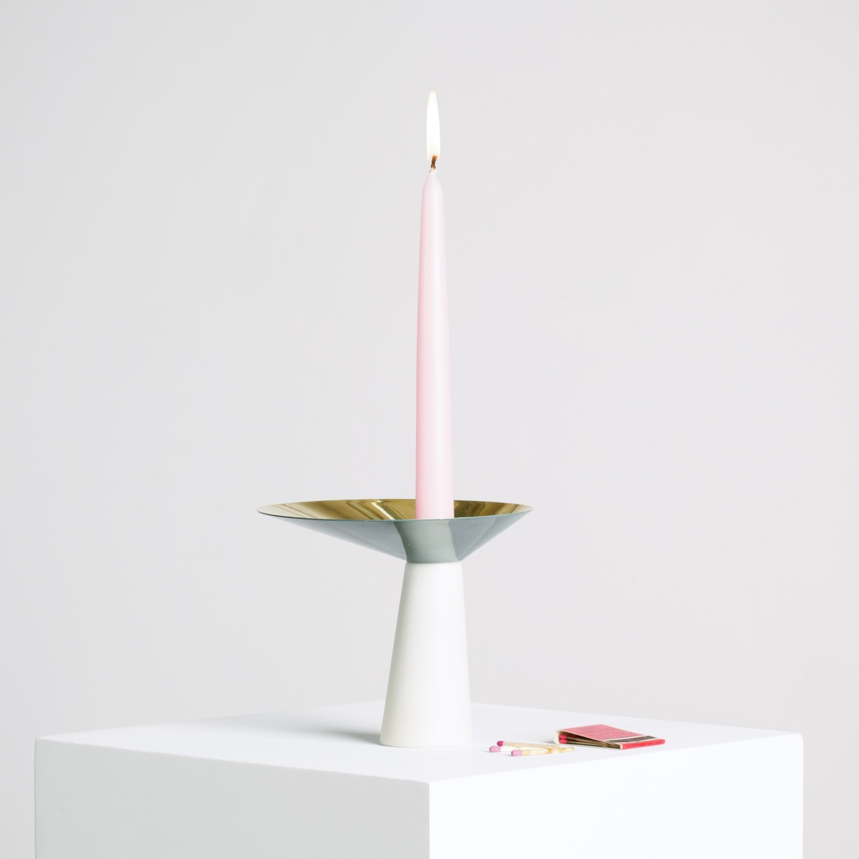 Asymmetrical Candle Holder 2014 Lukas Peet Design
