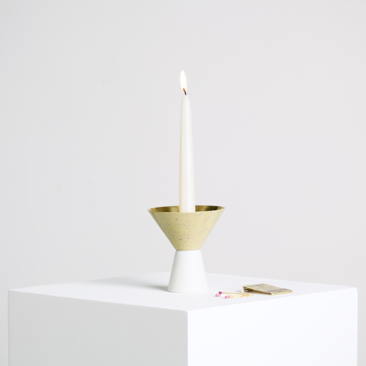 Asymmetrical Candle Holder 2014 Lukas Peet Design