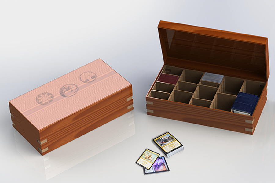 Magic The Gathering Deck Box Sonia Hupfeld Cousineau