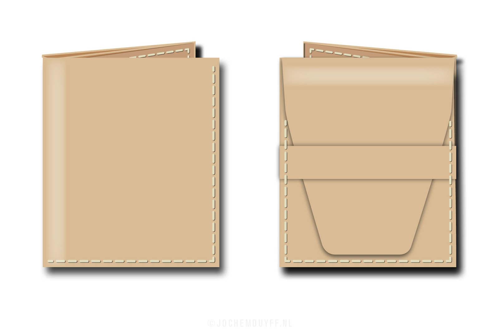 Portemonnee Design.A Custom Wallet Where Design Meets Craftmanship Jochem Duyff