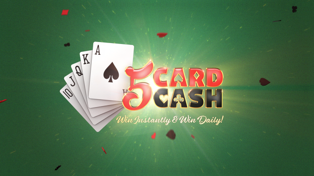5 Card Cash Logo Animation Fyn Ng Immersive Design