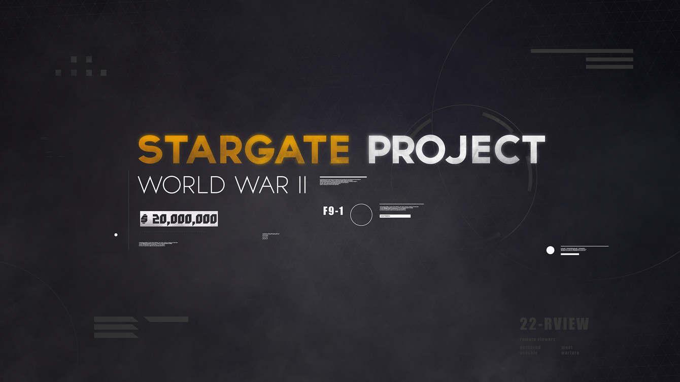 Stargate Project (Infographic) - Fyn Ng ・ Motion Designer