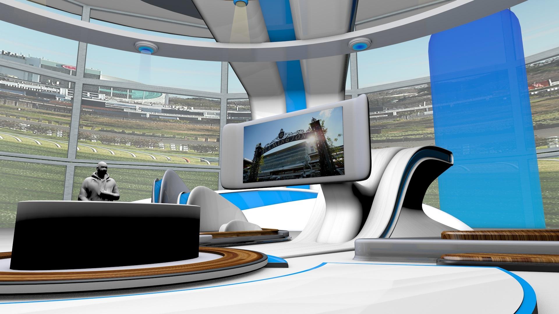 Crown Bet Virtual sets - orbitvfx