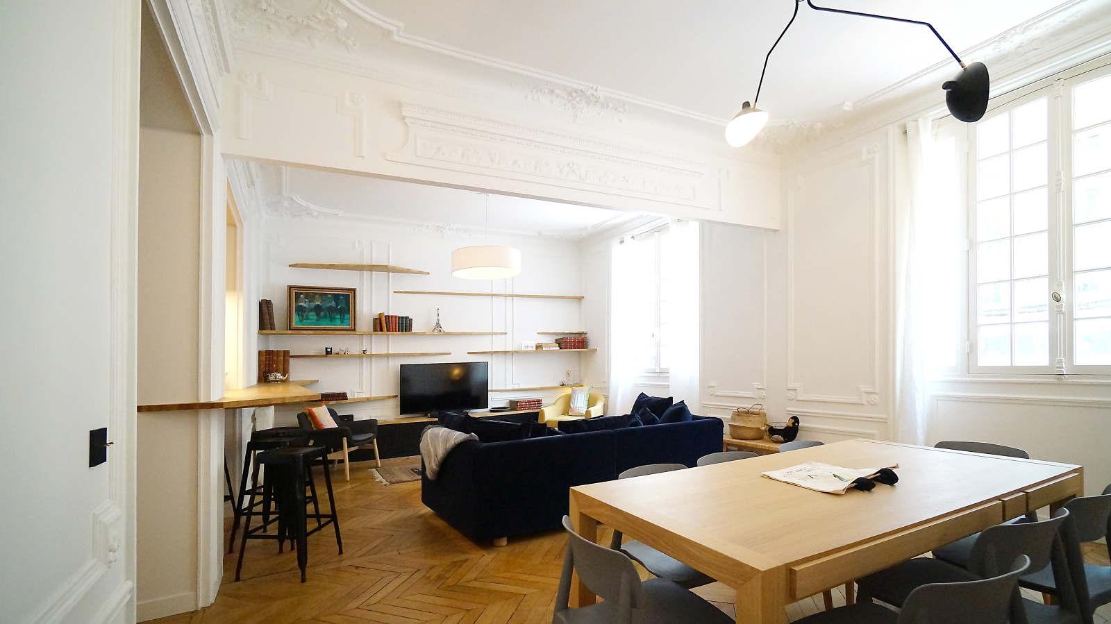 Architecte Interieur Paris 18 au pied de la tour - architecte paris 18ème - bardin