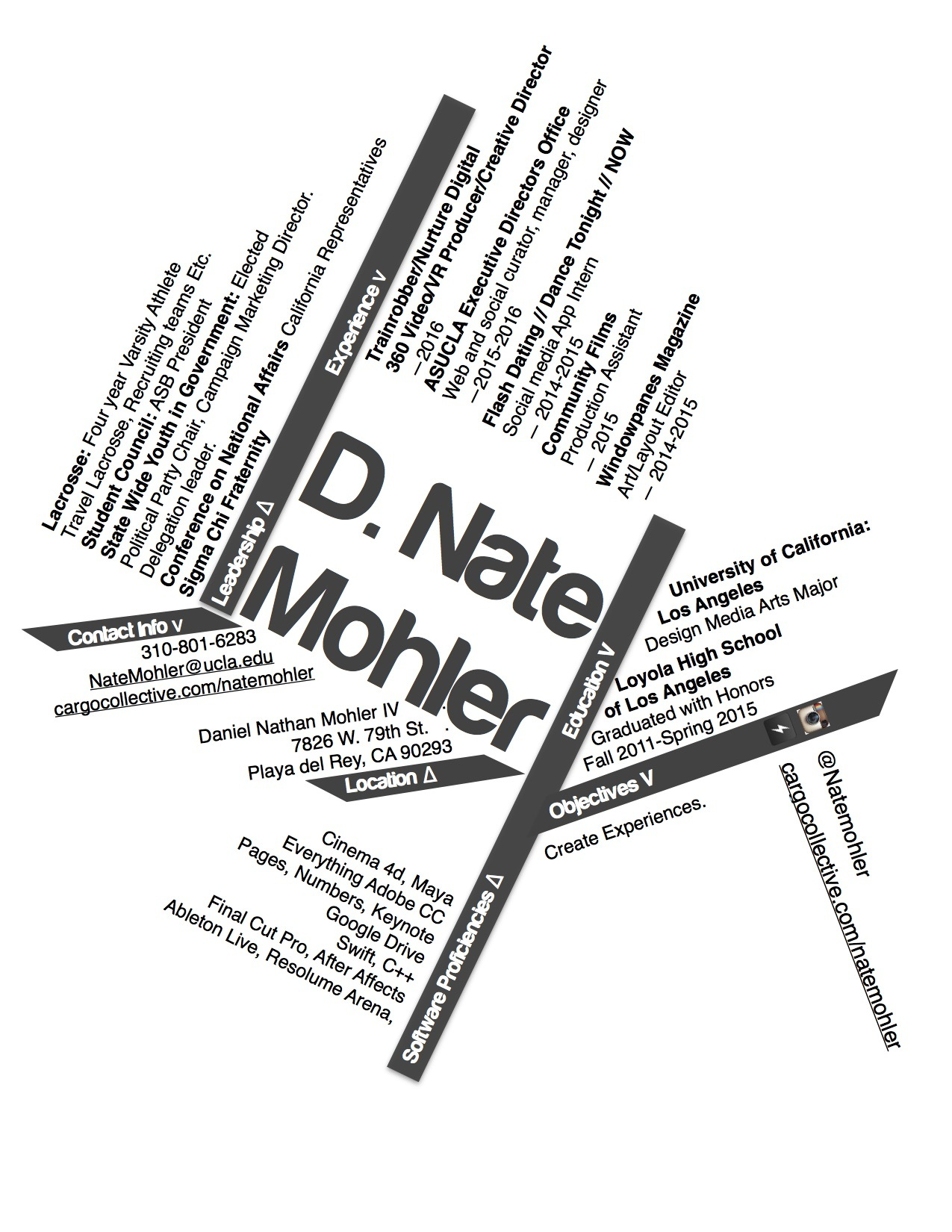 about nate mohler nate mohler collection Create Job Resume