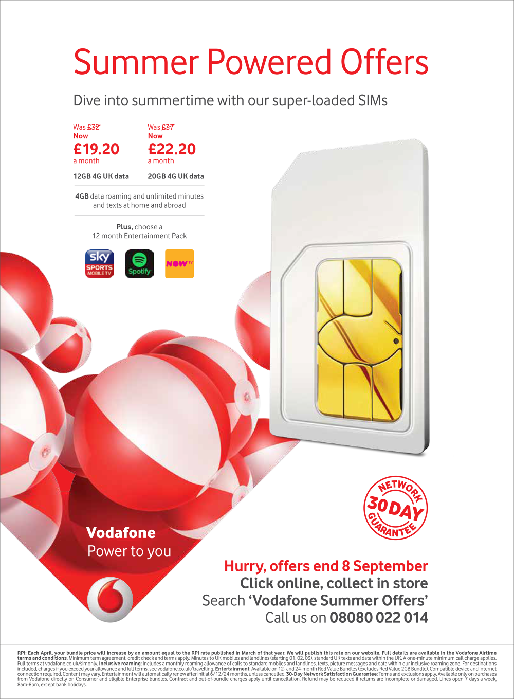 Vodafone Summer - Hamish Macaulay