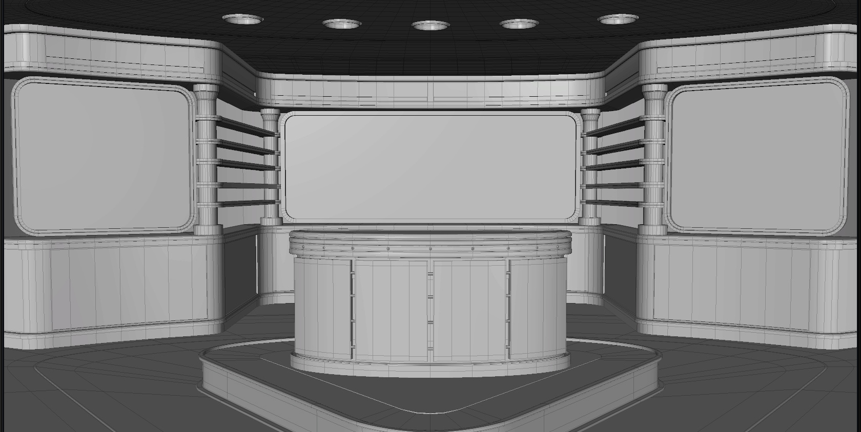 Virtual Sets for Tv shows - yomi