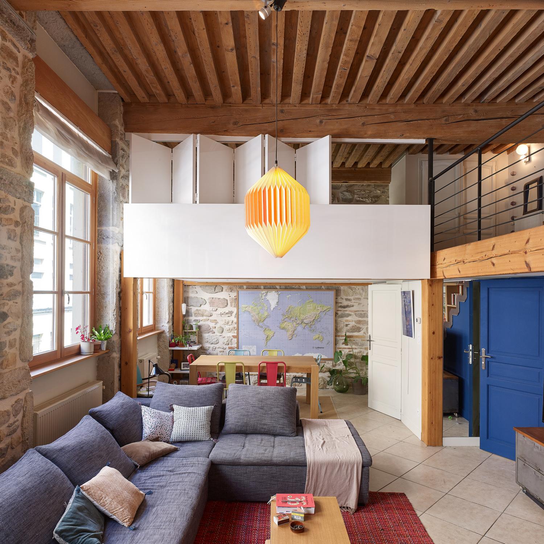 appartement croix rousse thibaut maugard fran ois maisonnasse architecte photographe. Black Bedroom Furniture Sets. Home Design Ideas