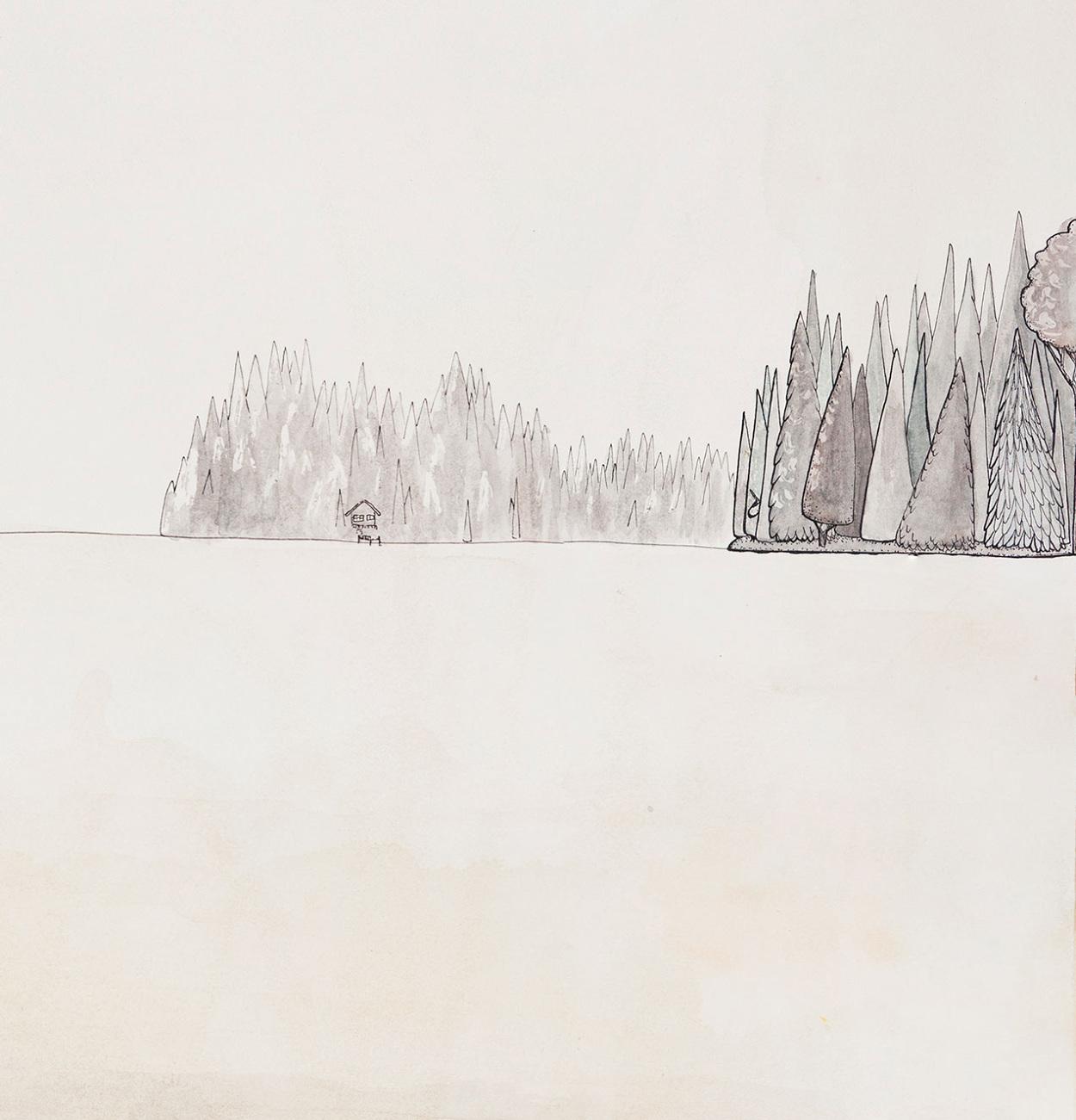 Floating on Lake Something 20 x 30