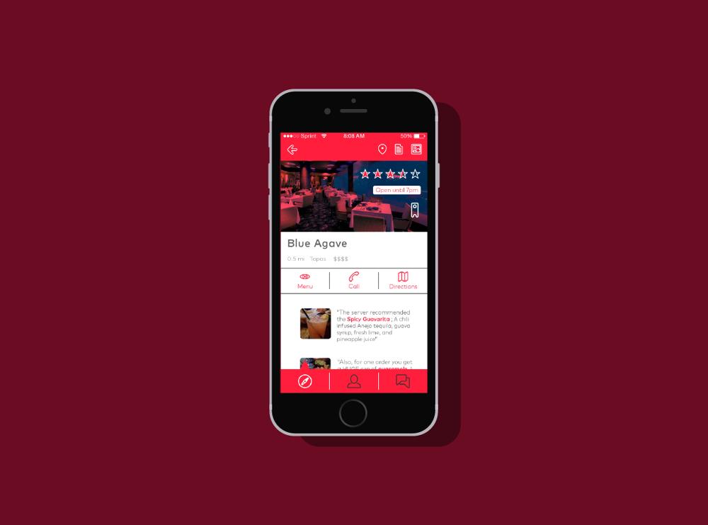 Yelp Redesign - Design Portfolio