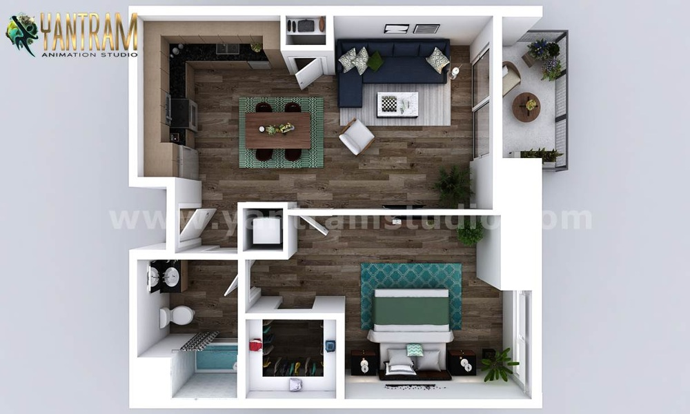 3d Residential Floor Plan Design Concept 3d Architectural Design Studio Virtual Reality And Augmented Reality Apps Development
