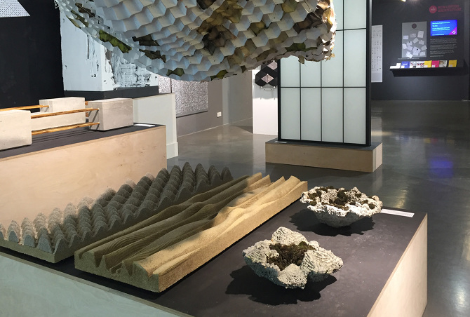 Bio Responsive Bloom Super Material Exhibition The A Lab